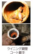 ライニング鋼管 コート継手